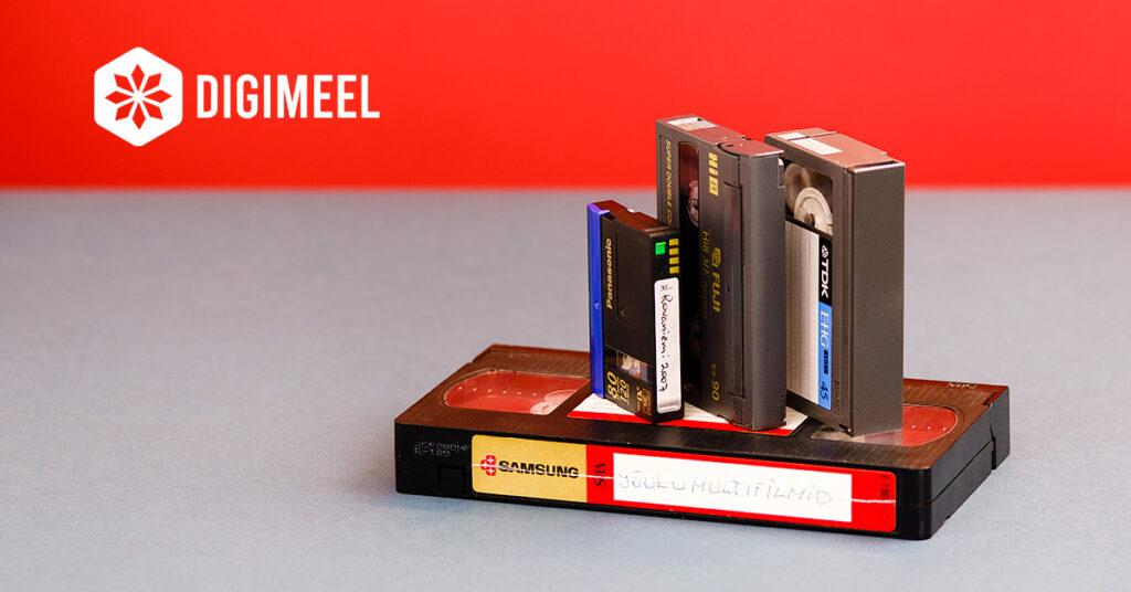 Videokassettide digitaliseerimine